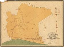 Mexico Map By Direccion General de Correos y Telegrafos