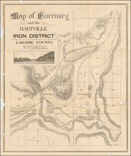 Wyoming Map By Frank Bond