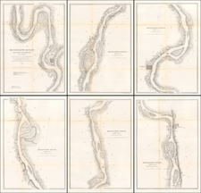 Midwest, Illinois, Plains and Missouri Map By United States Coast Survey