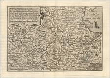 Netherlands Map By Matthias Quad / Johann Bussemachaer