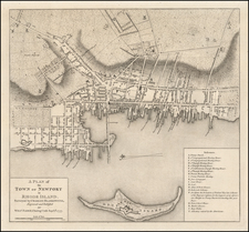 Rhode Island Map By William Faden