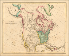 North America Map By Robert Wilkinson