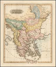 Greece and Turkey & Asia Minor Map By Fielding Lucas Jr.