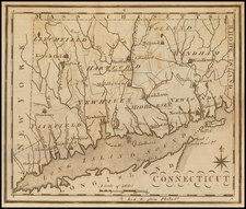 Connecticut Map By Joseph Scott