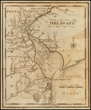 Delaware Map By Joseph Scott