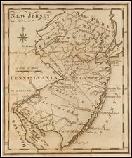 New Jersey Map By Joseph Scott