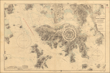 Hong Kong Map By British Admiralty