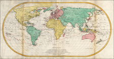 World Map By Mathais Albrecht Lotter