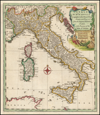 Italy Map By Thomas Kitchin