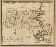 Massachusetts Map By Joseph Scott