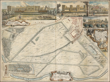 England Map By John Rocque