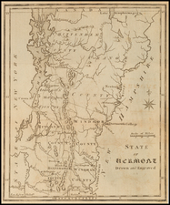 Vermont Map By Joseph Scott