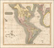 America Map By John Thomson