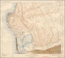 San Diego Map By U.S. Geological Survey