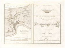 Mid-Atlantic, Maryland, Delaware, South, Louisiana and Kentucky Map By Guillaume-Tell Poussin