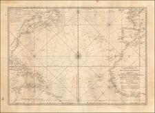 Atlantic Ocean Map By Depot de la Marine