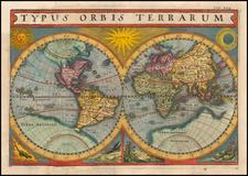 World Map By Matthaus Merian