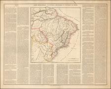 Brazil Map By Depot de la Guerre
