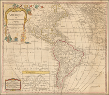 America Map By Jean-Baptiste Nolin / Maison Basset