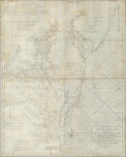 Mid-Atlantic, New Jersey, Maryland, Delaware, Southeast and Virginia Map By William Norman