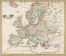 Europe Map By Robert Morden
