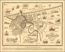 Ohio Map By Arthur B. Suchy