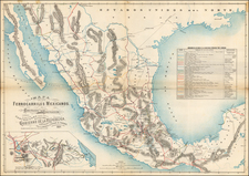 Mexico Map By Debray Sucessores