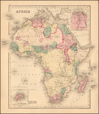 Africa and Africa Map By O.W. Gray