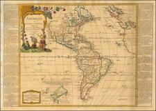 America Map By Jean-Baptiste Nolin / Jean-Francois Daumont