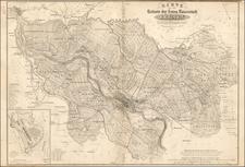 Germany Map By Johann Heinrich Thatjenhorst