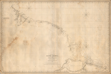 South America and Guianas & Suriname Map By E & GW Blunt