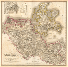 Germany Map By William Faden