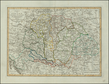 Hungary, Balkans and Croatia & Slovenia Map By Weimar Geographische Institut