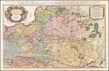 Poland and Baltic Countries Map By Pieter Mortier