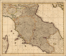 Northern Italy Map By Gerard & Leonard Valk