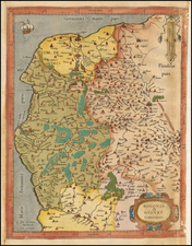 France Map By  Gerard Mercator