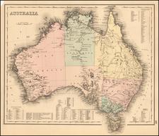 Australia Map By O.W. Gray