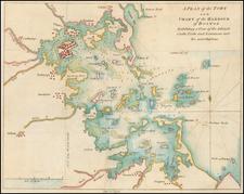 Massachusetts Map By Gentleman's Magazine