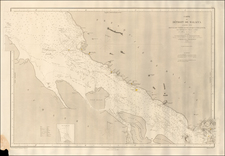 Singapore, Indonesia and Malaysia Map By Depot de la Marine