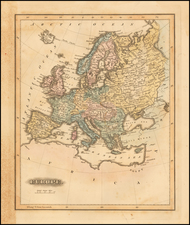 Europe Map By Fielding Lucas Jr.