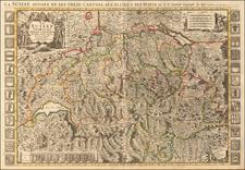 Switzerland Map By Pieter Mortier