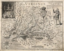 Southeast Map By John Smith