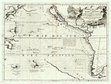 World, Polar Maps, South America, California and America Map By Vincenzo Maria Coronelli