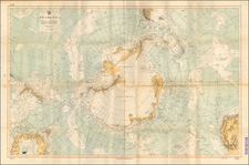 Polar Maps Map By U.S. Hydrographical Office