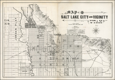Utah and Utah Map By Browne & Brooks