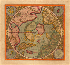Polar Maps Map By Gerard Mercator