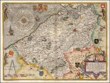 Belgium Map By Cornelis de Jode