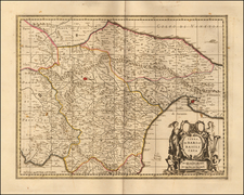 Southern Italy Map By Gerard Valk / Leonard Schenk