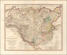 Norddeutschland Map By William Faden