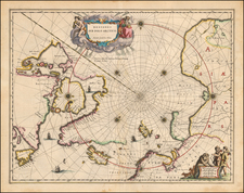 Polar Maps Map By Johannes Blaeu